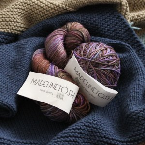 Madelinetosh DK in Cathedral