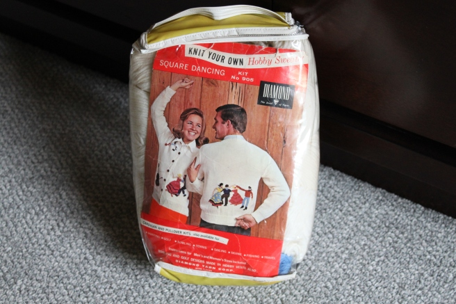 Unopened Kit for a Square Dance Sweater