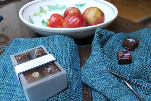 Kathryn Taylor Chocolates--made here in Orcas Island
