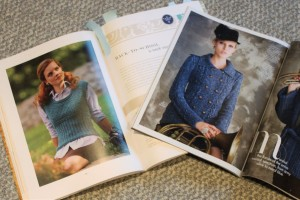 The Final Contenders--Vogue Knitting Winter 2012 and Fitted Knits by Stefanie Japel