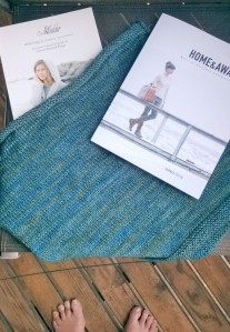 Two books from Quince & Co. Home and Away and Madder 2