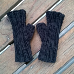 Finished Mitts