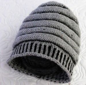 Gray Wurm out of stashed gray and black wools of unknown origin