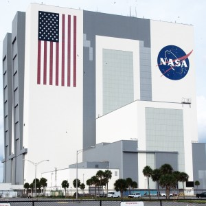 The Vehicle Assembly Building at Kennedy Space Center