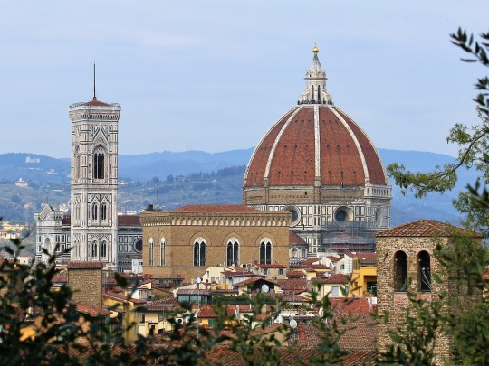 The Duomo seen from the Belvedere