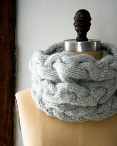 Purl Soho Braided Cable Cowl