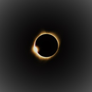 The last flash before totality