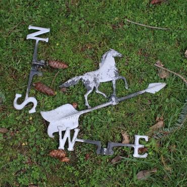 Downed weathervane